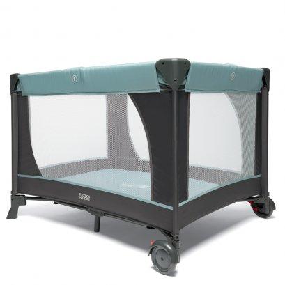 เตียงนอนพกพา Classic Travel Cot สี Mint & Grey