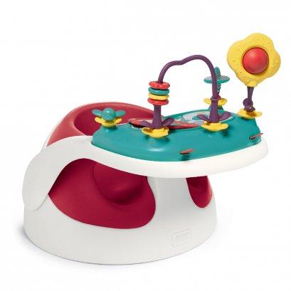 เก้าอี้หัดนั่ง Baby Snug and Activity Tray - สี Red