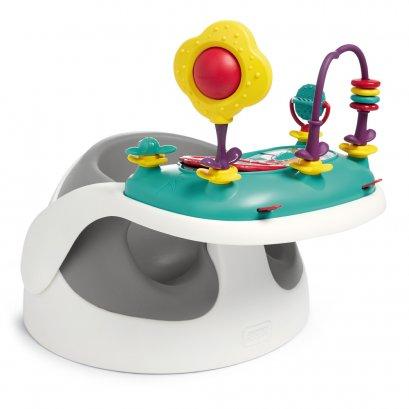 เก้าอี้หัดนั่ง Baby Snug and Activity Tray - สี Soft Grey
