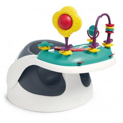 เก้าอี้หัดนั่ง Baby Snug พร้อมถาดของเล่น สี Navy (New)