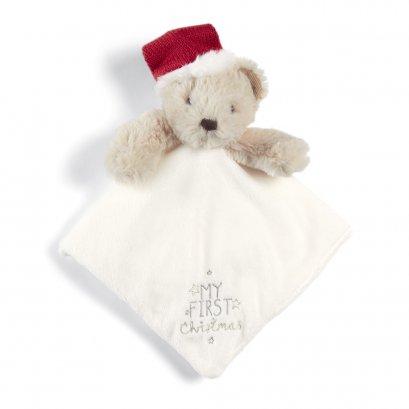 ผ้ากอดหมีน้อย My 1st Christmas Bear