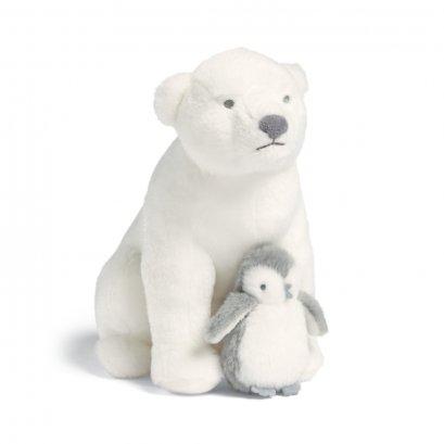 หมีขั้วโลกและลูกน้อย Polar Bear & Baby - Mamas & Papas 'A Treasured Christmas