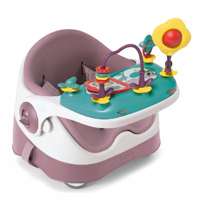Baby Bud Booster Seat with Detachable Tray - Dusky Rose(copy)