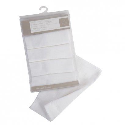 ผ้าอ้อม สีขาวแพ็ค 5 ชิ้น
