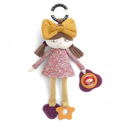 ตุ๊กตาแขวนรถเข็น เด็กผู้หญิง  Babyplay Activity Toy - Dotty