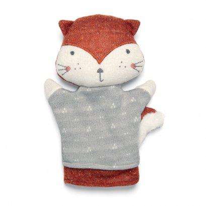 ตุ๊กตาถุงมือจิ๊งจอก Soft Toy - Knitted Fox Puppet