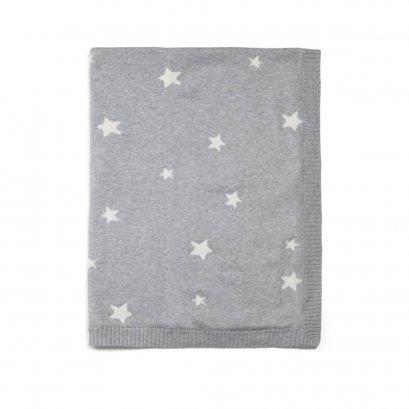 ผ้าห่มสีเทา ลายดาว Grey Star - Mamas & Papas
