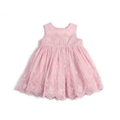 Lace Dress (สอบถามสต็อค และ ไซต์ ที่ Line ID :@mommories)