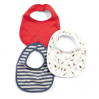 Fox Bibs (Set of 3)