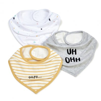 Contemporary Bibs - 3 Pack