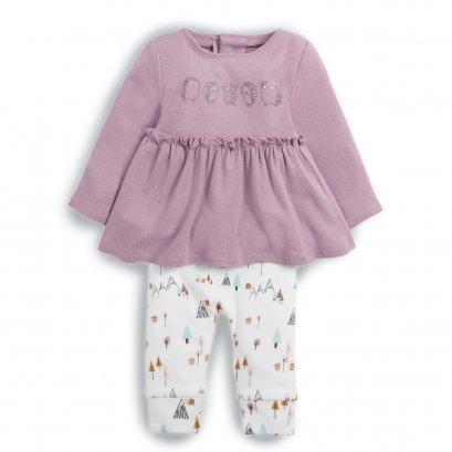 Hedgehog Long Sleeve Top & Leggings Set
