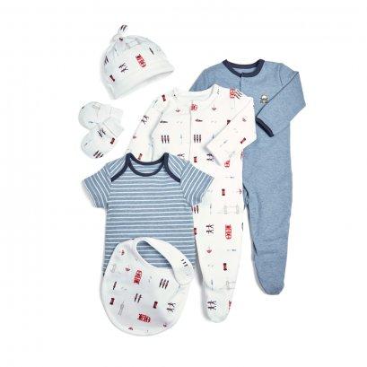 London Newborn Essentials - 6 Piece Gift Set (*รบกวนเช็ค SIZE / STOCK ที่ไลน์ :@mommories )