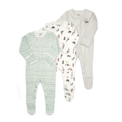 Boys Outback Sleepsuit -3 Pack  (สอบถามสต็อค และ ไซต์ ที่ Line ID :@mommories)