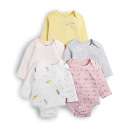 Bird Bodysuits (Set of 5)