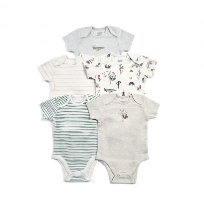Boys Bodysuits - Mixed 5 Pack