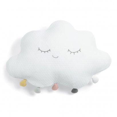 หมองอิง Cushion สำหรับเด็ก ลาย White Pompom Cloud