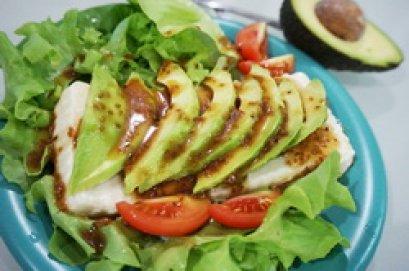 Easy Avocado Tofu Salad