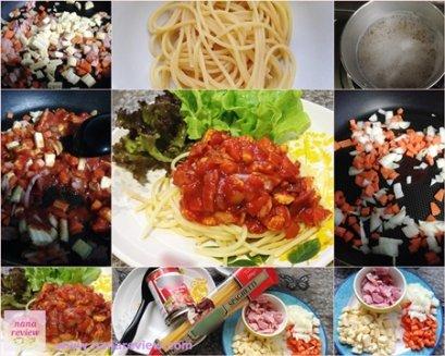 Tomato Sauce Spaghetti by nanareview