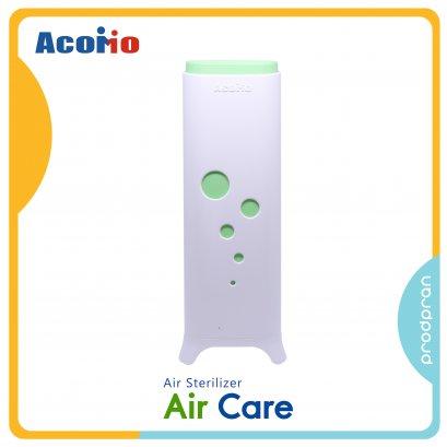 Acomo AirCare เครื่องฆ่าเชื้อในอากาศ สีเขียว แถมฟรี เครื่องฆ่าเชื้อพกพาขนาดเล็ก