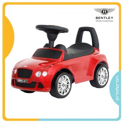 รถขาไถสำหรับเด็ก Bentley สีแดง