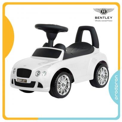 รถขาไถสำหรับเด็ก Bentley สีขาว