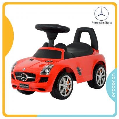 รถขาไถสำหรับเด็ก Mercedez-Benz สีแดง