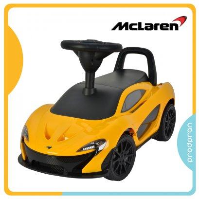 รถขาไถสำหรับเด็ก McLaren สีเหลือง