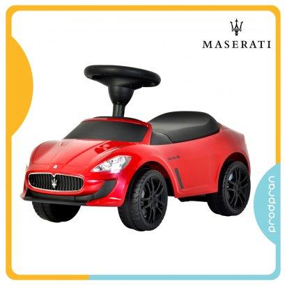 รถขาไถสำหรับเด็ก Maserati สีแดง