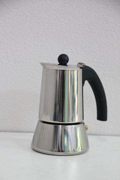 Moka Pot สแตนเลส 4 cups