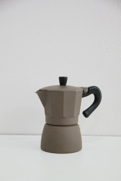 Moka Pot 3 cups Brown
