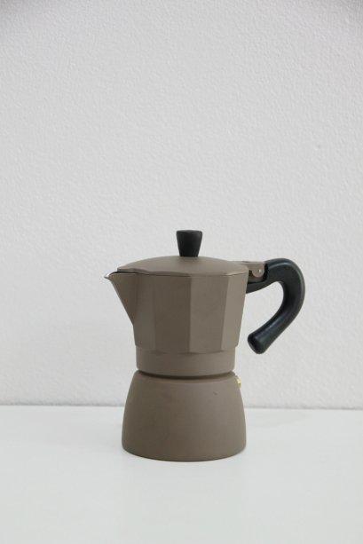 Moka Pot 3 cups Brown