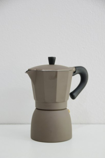Moka Pot 6 cups Brown