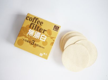 Natural Paper filter Moka pot 3 cups