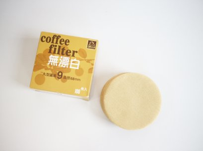 Natural Paper filter Moka pot 9 cups