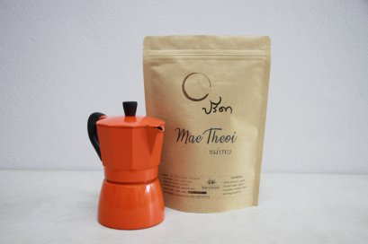 Moka Pot 3 cups Orange + Sopa Maetheoi 250g