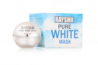 Rayshi Pure White Mask สลิปปิ้งมาส์กสูตรพิเศษ