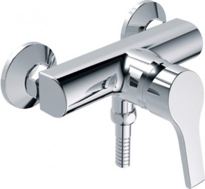 Active II Exposed shower mixer WITH HAND SPRAY- A-3915-300