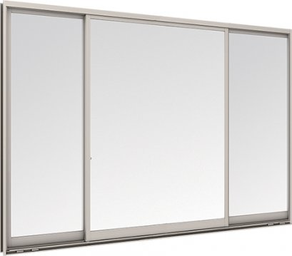 WE 3 PANELS SFS SLIDING WINDOW