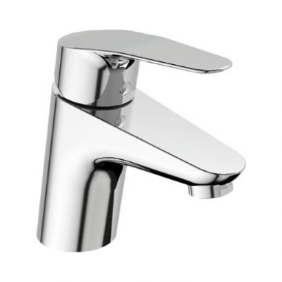 Cygnet Basin Mixer with Stop Valve - A-0301-100