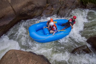 White Water Rafting 8 km. (by 8 Adventures)