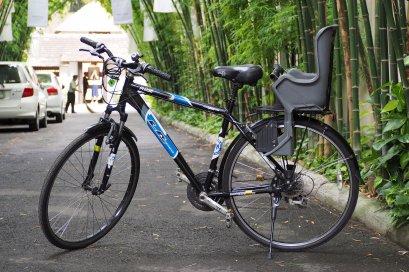 จักรยาน+ที่นั่งเด็กเล็กด้านหลัง