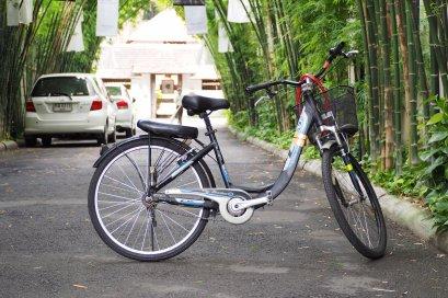 จักรยาน (M) + ที่นั่งเด็กด้านหลัง
