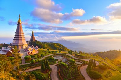 One Day Doi Inthanon National Park,Northern Trip, Chiang Mai Thailand