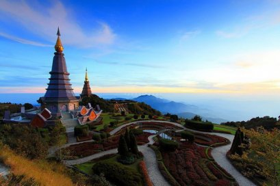 One Day Doi Inthanon National Park & 2 Hours Nature Trail Walk Pha Dok Siew ,Northern Trip, Chiang Mai Thailand