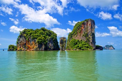 James Bond Island by Longtail Boat & Sea Canoe