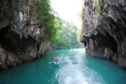Kayaking at Bor Thor & Elephant Trekking