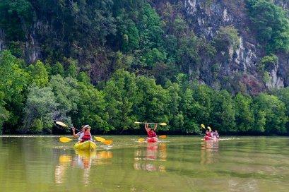 Kayaking at Bor Thor & ATV