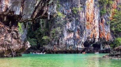 Kayaking at Thalane Bay & Hong Island by Longtail Boat