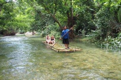 Half Day Khaolak Bamboo Rafting