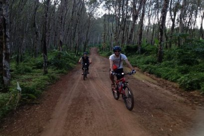 One Day Long Distance Cycling 56km